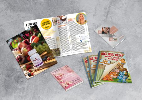 Katalógus, könyv, étlap, magazin, szórólap